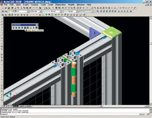 Framequoter Aluminum Extrusion Design Software From Frame